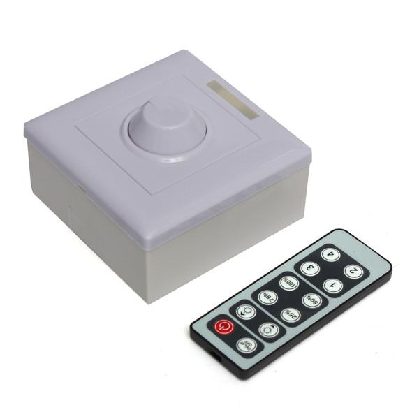 Реостат для регулирования света 12/12v PWM 0/10v E27 GU10 PWM LED Triac Dimmer