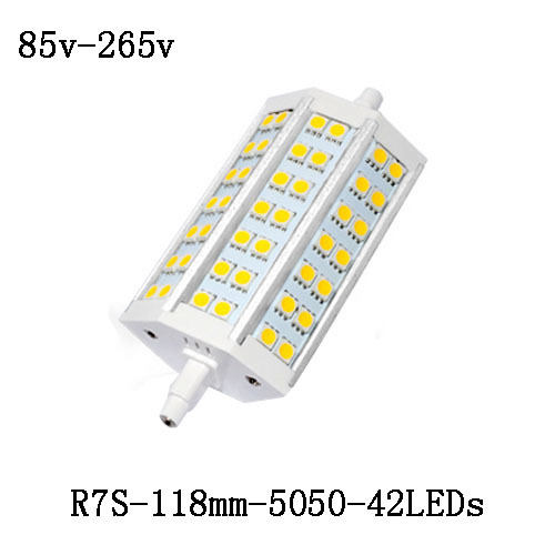 1x R7S LED Lamp 5050 smd 78mm/118mm/138mm/189mm/ 12W 20W 25W 30W Corn bulb Spotlight replace halogen floodlight LED Light(China (Mainland))