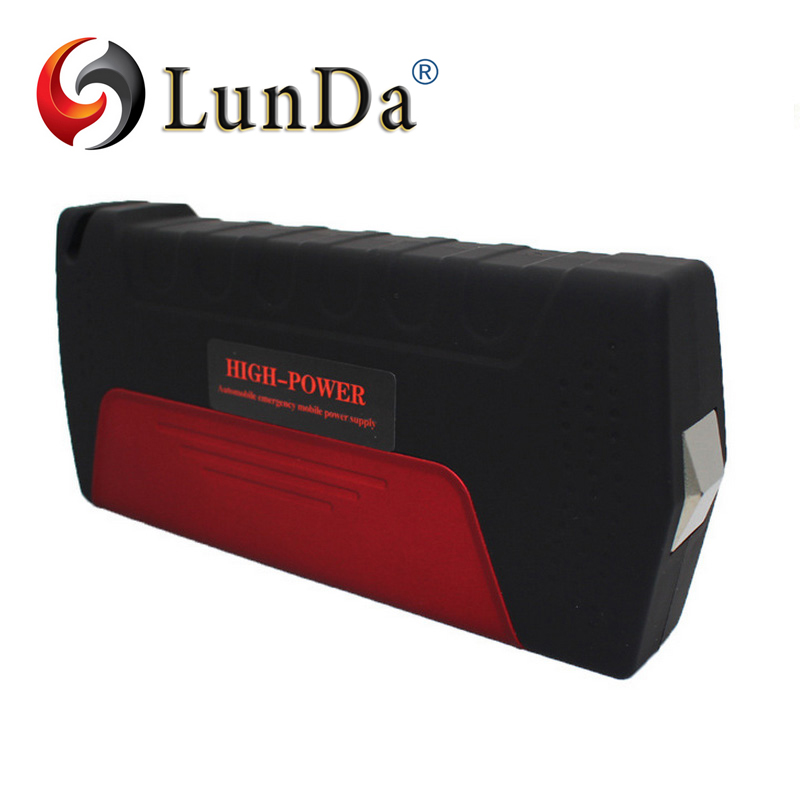 LUN DA Car jump starter High power capacity battery source pack charger vehicle engine booster emergency power bank(China (Mainland))