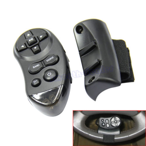 1pc Car Universal Steering Wheel Remote Control Learning For Car CD DVD VCD(China (Mainland))