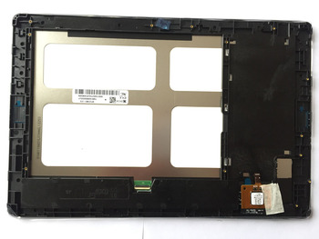 """Full new BP101WX1-210 LCD Display Digitizer+TOUCH SCREEN with frame For 10.1"""" Lenovo A10-70 A7600 no logo  free shipping"""
