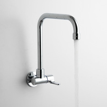 2015 New Arrival Single Cold Kitchen Tap High Quality Into The Wall Type Faucet 87209(China (Mainland))