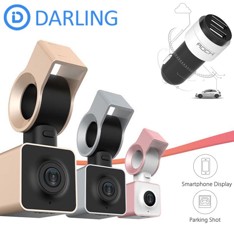 ROCK AutoBot Eye Smart Dashcam Auto Start Car DVR Camera 150 Degree 1080P WIFI Phone Display Parking Shot Mode WDR Night Vision(China (Mainland))