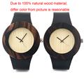 2016 Newest Arrival Fashion Casual Unisex Ebony Wood Watches BOBO BIRD Brand Watch Japan Quartz 2035