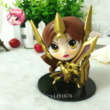 Game RIOT Leona The Radiant Dawn PVC Action Figure Collectible Model Toy Fee Shipping