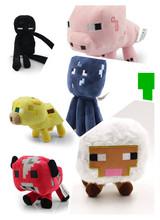 7pcs/set High Quality Minecraft Toys.13-26cm Cute Anime Doll.Plush Minecraft Plush Toys For Children,brinquedos(China (Mainland))