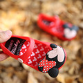 2017 Melissa New Mickey Minnie Mini Girls Sandals Melissa Jelly Shoes Children Sandals Breathable 13 15
