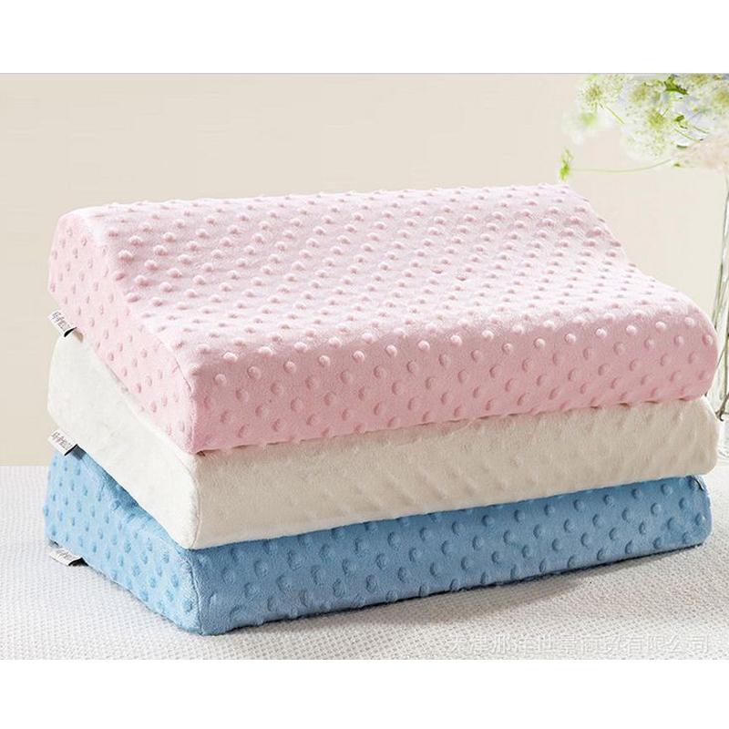 Memory foam pillow care new 3 colors Orthopedic Latex Neck ...