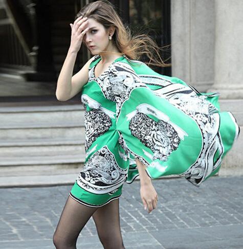2015 new European style dress summer  -  kauilexiaodian store