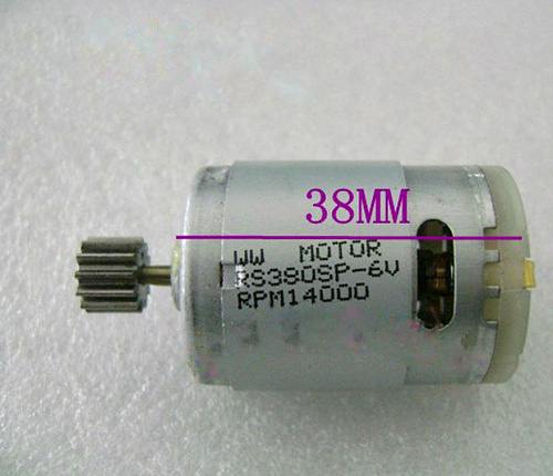 Free Shipping 2PCS/LOT RS380 380 Brushed Motor for DIY RC Model Electric Car Airplane Boat 030310(China (Mainland))