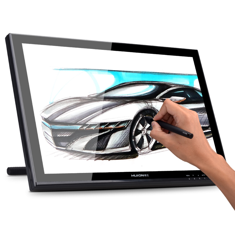 """Huion GT-190 19"""" HD Pen Display Touch Screen LCD Monitor Digital Graphic Interactive Panel Professional Drawing Monitor 5080 LPI(China (Mainland))"""