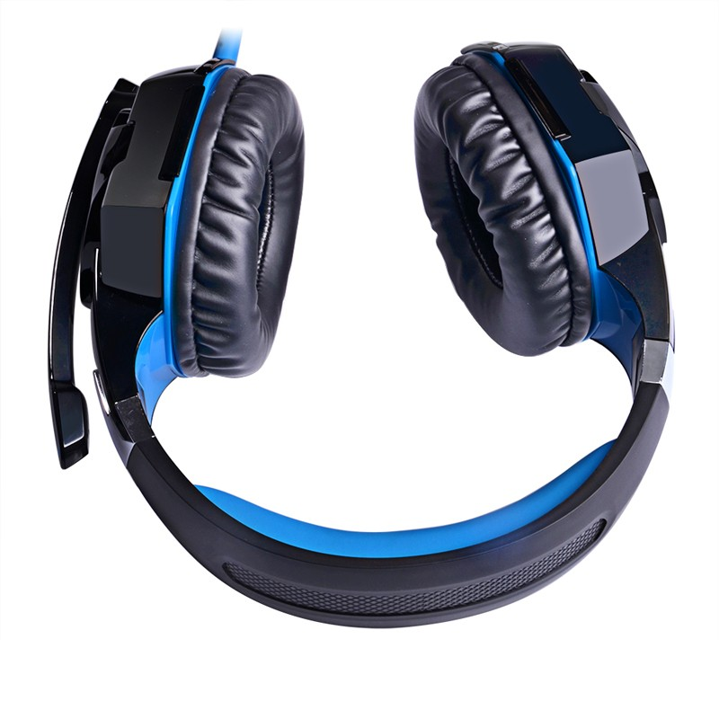 EACH G2000 Deep Bass Game headphones for PC Stereo Surrounded Over-Ear Gaming Headset Headband Earphone with Light for Computer