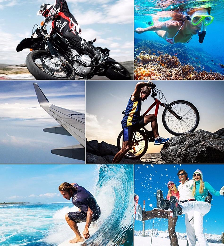 Original EKEN H9 / H9R Remote Action Camera Ultra HD 4K WiFi 1080P/60FPS 2.0 LCD 170D Lens Sport Cam Go WaterProof Pro Camera