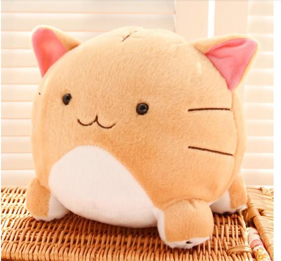 Cute Big Cat Plush Toy Pillow : Japanese anime Poyopoyo Kansatsu Nikki with paragraph Cute Toot cat pillow cushions plush toys ...