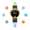New S6 Bluetooth 4 0 Smart wristband Sleep Monitor Anti lost Heart Rate Monitor Pedometer for