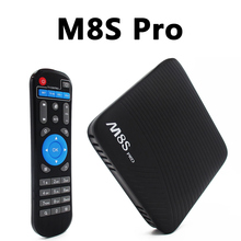 Buy Android 7.1 M8S Pro TV Box 2G/3GB DDR4 RAM/16GB EMMC Amlogic S912 Octa Core Streaming Media Player 2.4G/5G Wifi Bluetooth 4.1+HS for $75.60 in AliExpress store