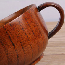 Japanese style Coffee cup wooden cup with handle set tableware and household wholesale free shipping