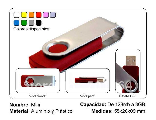 New Arrival USB pen drive 4GB 8 GB 16 GB 32 GB small colorful swival Flash Drive USB Flash Drive