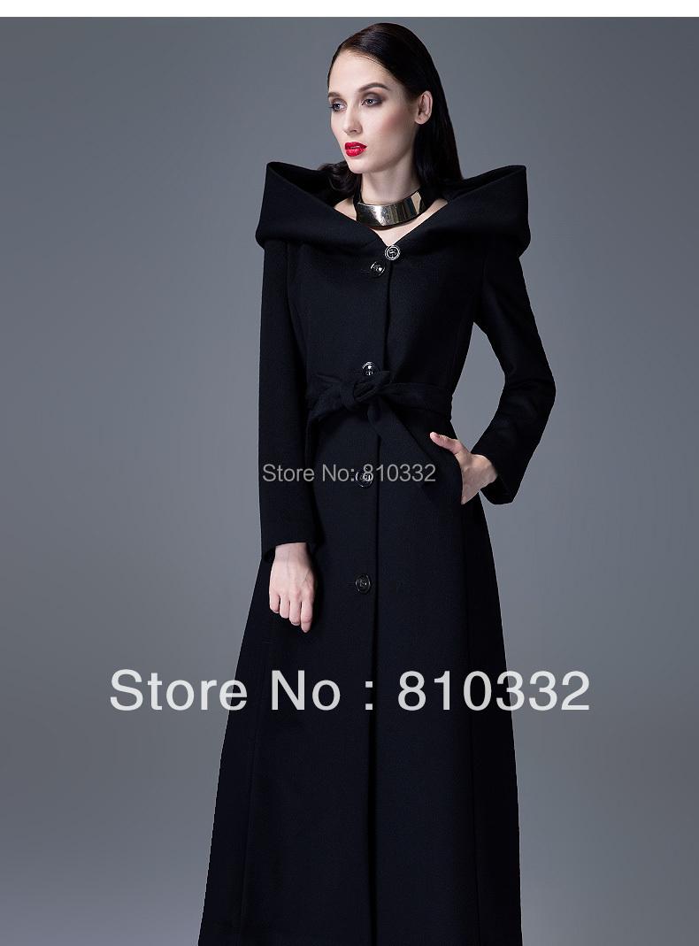 manteau long femme capuche. Black Bedroom Furniture Sets. Home Design Ideas