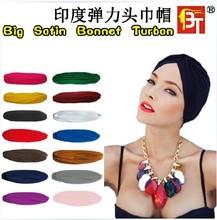 21 colors Hot selling muslim hat hijab islamic turban, Yoga cap, India women's inner caps