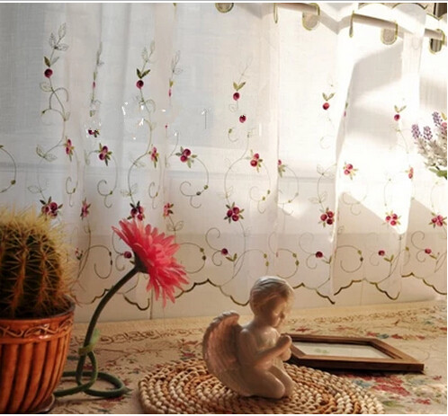 Curtains Ideas coffee curtains for kitchen : Online Buy Wholesale lace curtains for kitchen rose from China ...