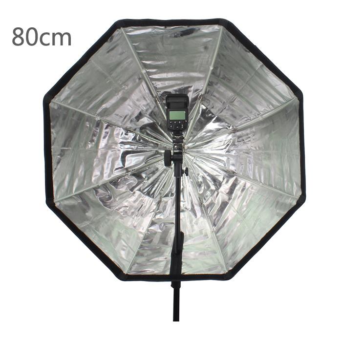 Octagon Umbrella Speedlite Softbox: Aliexpress.com : Buy Godox Photo 80cm / 31.5in Octagon
