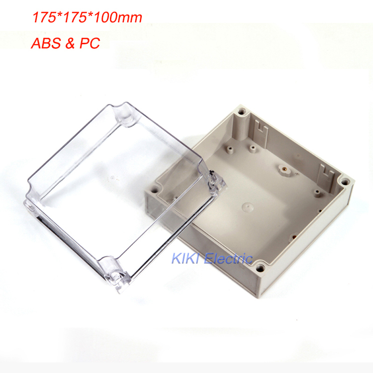 European style Electrical waterproof plastic box as outlet/junction Enclosure ip66 PC& ABS boxes 175*175*100mm DS-AT-1717-1(China (Mainland))