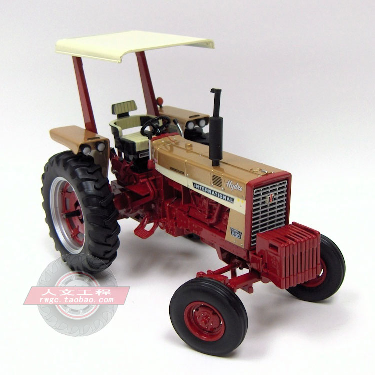 CASE IH 656 tractor Case IWC golden automotive mannequin American model ERTL 1:16