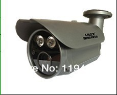 Free Shipping Genuine 1/3'' Sony CCD LED ARRAY DOUBLE STAR 1000 TVL WATERPROOF OUTDOOR CAMERA(China (Mainland))