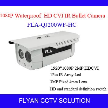 Здесь можно купить  HD CVI 2.0MP Color IR CCTV 1080P Security Camera 4mm fixed len 1pcs Array LED Support 500 meters transmission with 75-3 coax  Безопасность и защита