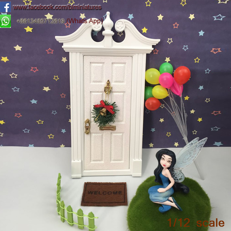 Popular wooden fairy doors buy cheap wooden fairy doors for White fairy door