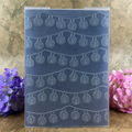 Cute Leaf and Flowers DIY Scrapbook bump Plastic Embossing Folder For Album Card Tool Plastic Template 12.5*17.8cm JOYSDIY