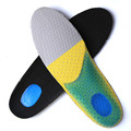 2017 Shock Absorption InsoleS High Elastic Breathable Foam EVA Silicone Shoe Pad