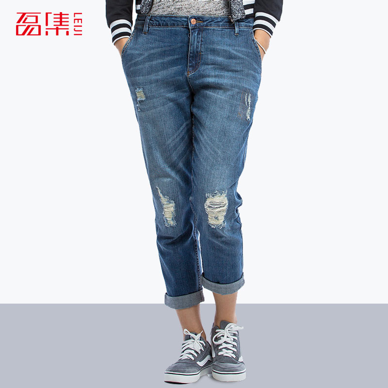 aliexpresscom buy blue fashion ripped jeans for women