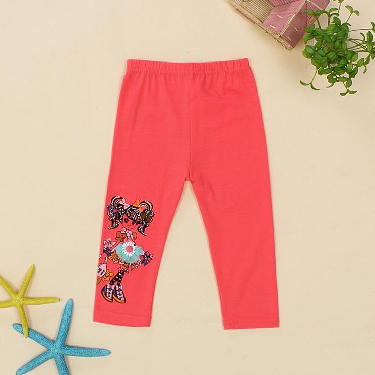 Retail Female Kid's Pants 2014 New Fashion Cotton Cartoon Clothing Girl Good Quality Children's Trousers - LISHITIANFU store