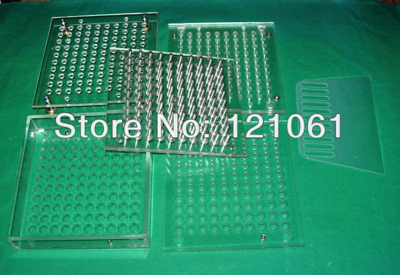 1# capsule used filler,100 cavity manual capsule filling machine,capsule filler with tamper(China (Mainland))