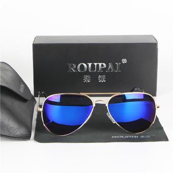 New Fashion Pilot Sun glasses Man Classic UV400 Polarized Sunglasses For Men Women