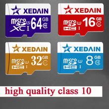 XEDAIN Good real capacity 8GB 16GB 32GB 64GB Class10 brand Memory cards mini sd  micro sd cardsTF card microsd card mini sd card(China (Mainland))