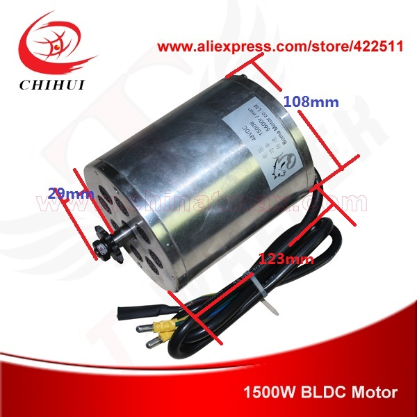 1500W 48V Brushless Electric DC Motor Scooter BLDC BOMA (Scooter Parts)  -  YONGKANG CHIHUI INDUSTRY & TRADE CO., LTD store