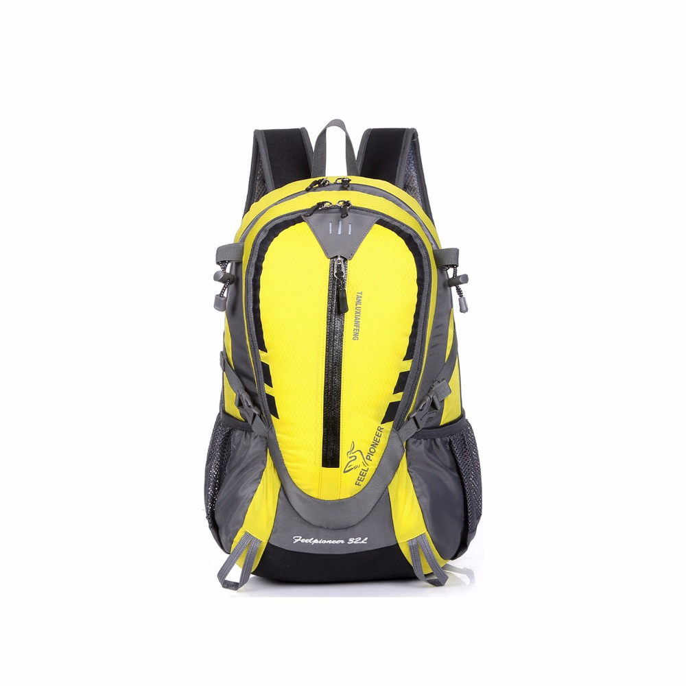 Feel Pioneer 32L Softback Backpack 3D AIR CONVECTOR TECH Camping Hiking Sports Bag Polyester Water Proof Ventilate(China (Mainland))