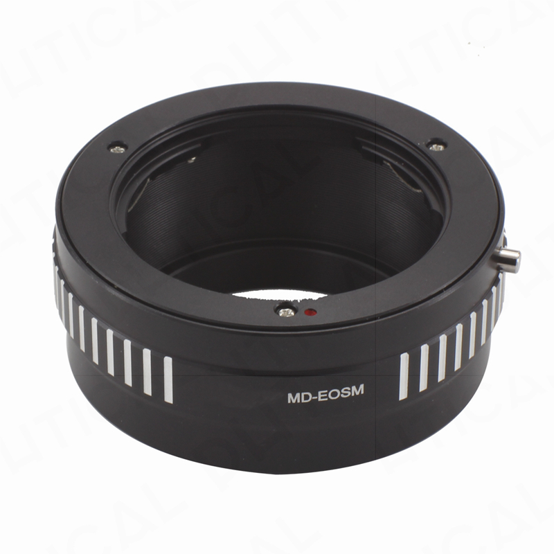 PHTICAL Hi-Precision MD-EOSM Lens Adapter Minolta MD MC Screw Lens Canon EOSM EOS M Mount Digital Camera Body