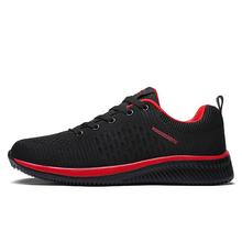 2018 ใหม่ตาข่ายรองเท้า Lac - up รองเท้าผู้ชายน้ำหนักเบาสบาย Breathable เดินรองเท้าผ้าใบ Tenis Feminino Zapatos(China)