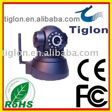 2012 sale :CHEAP 10 IRLIGHTS TWO WAY AUDIO  PAN WIFI Wireless IP  camera (NC620W)