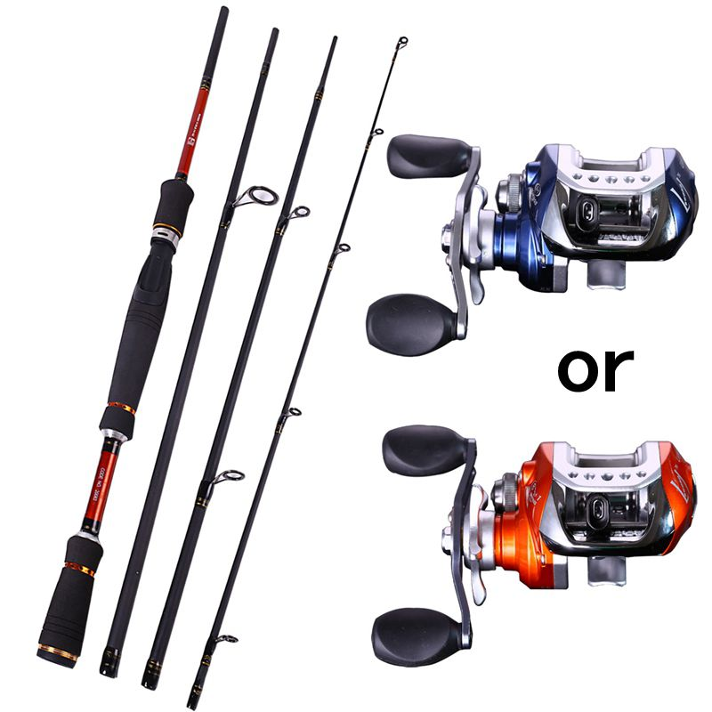 4 section fly fishing rod set 2 1 2 7m fly rod and reel for Fly fishing rod and reel combo