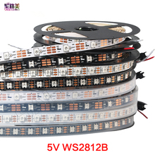 Buy 1m/5m WS2812B Smart led pixel strip,Black/White PCB,30/60/144leds/m pixel WS2811IC Independently addressable IP30/IP65/IP67 DC5V for $2.83 in AliExpress store