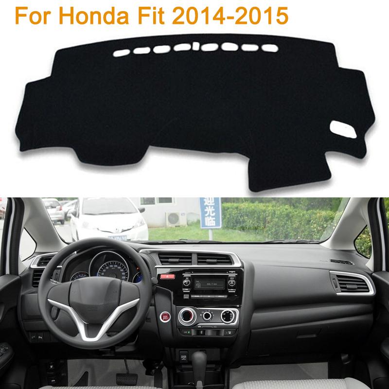 Фотография 2016 Car Styling Dashboard Protective Mat Shade Cushion Photophobism Pad Interior Carpet For Honda Fit 2014-2015