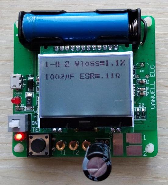 , 2016 newest version inductor-capacitor ESR meter DIY MG328 multifunction tester - KEWEIDIANZI store