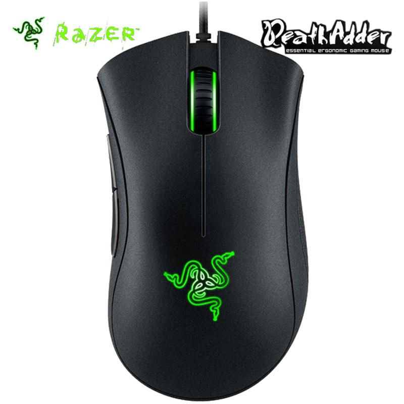 Razer Deathadder Chroma USB Wired Optical Computer Gaming Mouse 10000dpi Optical Sensor Mouse Razer Mouse Deathadder Gaming Mice(China (Mainland))