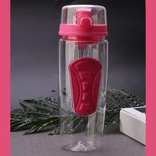 1000 мл фрукты настаивая Infuser Пластик Бесплатная Детокс Спорт на открытом воздухе здоровья бутылка для воды(China)
