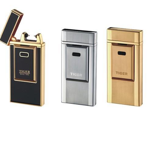 ถูก 100ชิ้น/ล็อตUSBอิเล็กทรอนิกส์ซิการ์เบาแบตเตอรี่แบบชาร์จusbไฟแช็กแอลอีดีจัดส่งฟรี